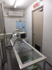 各検査機器(エコー検査器・動脈硬化検査・心電図)レントゲン室の写真